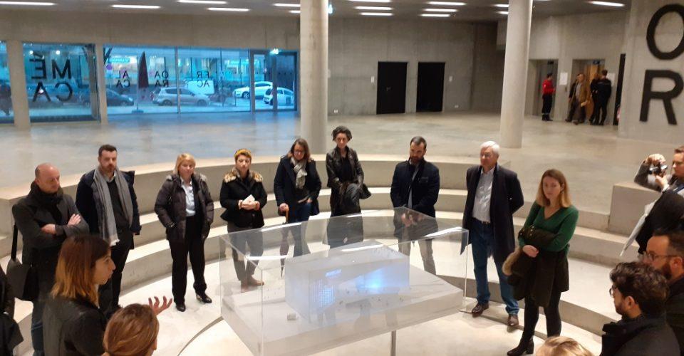 Visite de la Méca et exposition du Frac Nvelle Aquitaine